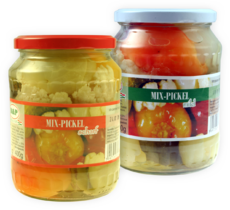 Mixed Pickles mild/scharf